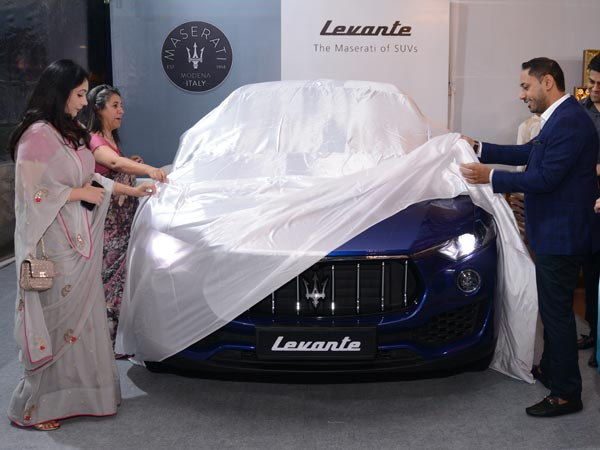 Maserati Levante Previewed In Delhi