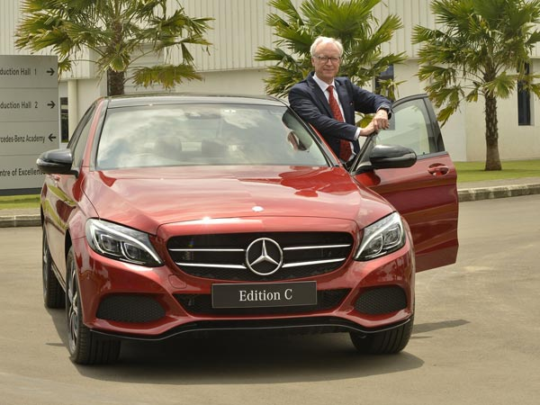 Mercedes-Benz C-Class 'Edition C' Launched In India; Launch Price, Specifications & Images
