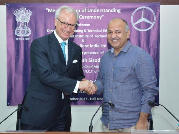 Mercedes Benz Mechatronics Program Launched In Delhi