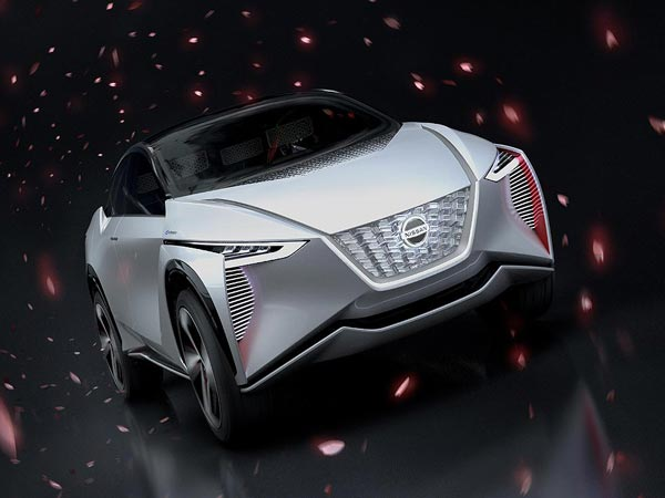 Nissan Crossover Concept Electric Vehicle Unveiled At 2017 Tokyo Motor Show