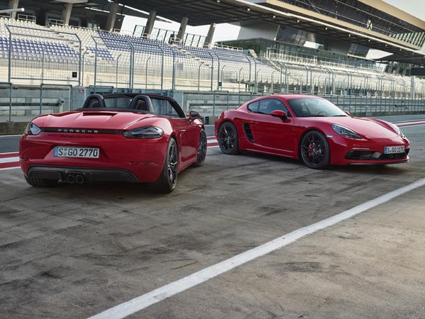 Porsche 718 Cayman And Boxster Gts Revealed