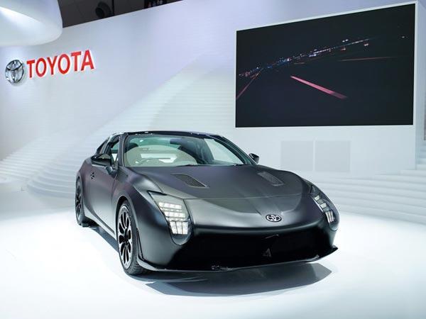 Toyota Gr Hv Sports Concept Revealed