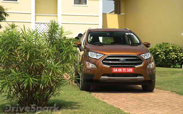 Ford Ecosport Facelift Design Features Safety