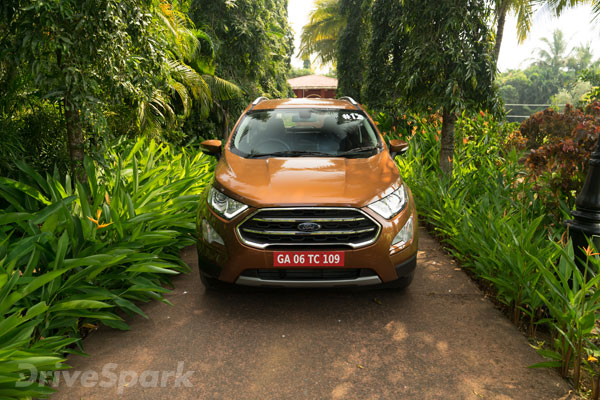 Review  Ford Ecosport Facelift First Drive