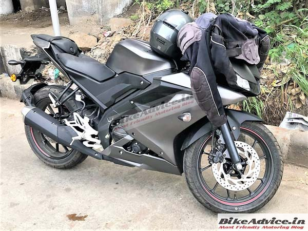 Spy Pics: Yamaha YZF R15 V3.0 Spotted Testing In India