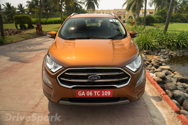 Review: 2017 Ford EcoSport Facelift First Drive
