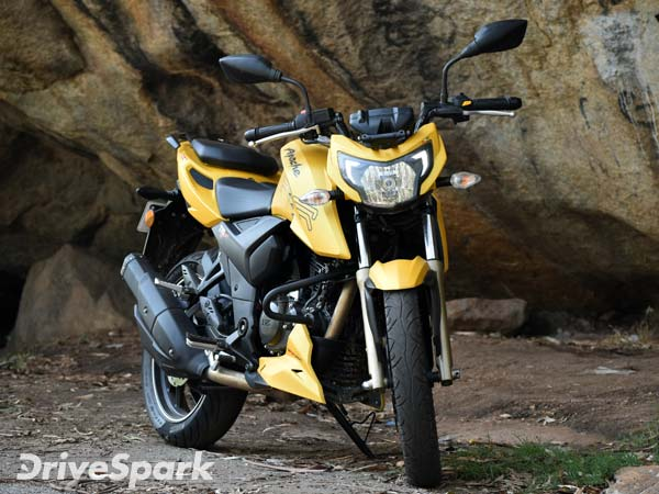 TVS Apache 200 Fi4V Launched At Rs 1.07 Lakh In India