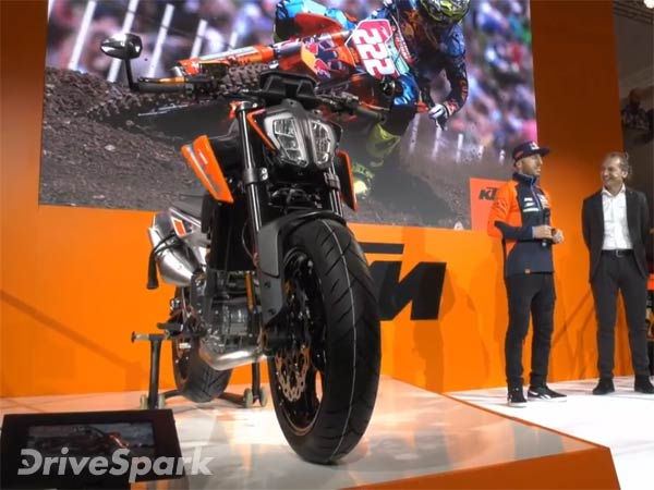 EICMA 2017: KTM 790 Duke Revealed
