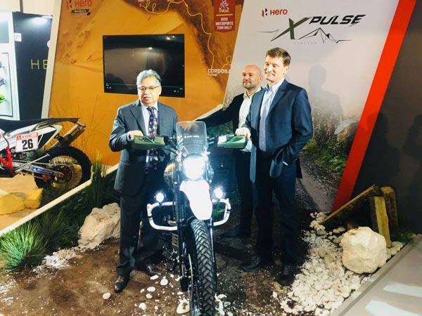 EICMA 2017: Hero Xpulse Concept Unveiled