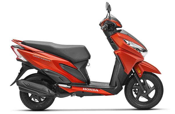 Honda Grazia Scooter Launched at Rs. 57897