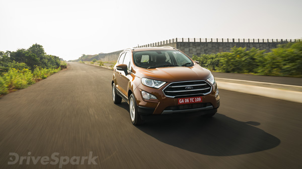 2017 Ford EcoSport Facelift Launched At Rs 7.31 Lakh In India; Prices, Mileage, Specifications & Images