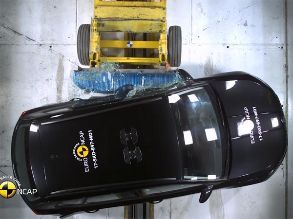 Skoda Karoq Gets 5-Stars In Euro NCAP Crash Test