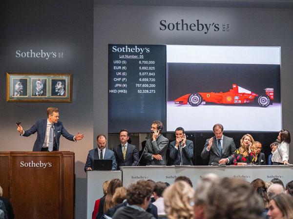 Michael Schumacher's 2001 F1 Championship Winning Car Sells For $7.5 Million At Auction