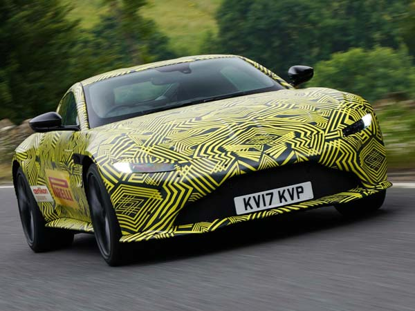 2018 Aston Martin Vantage Goes Sideways In Slow Motion – Unveil Date Revealed