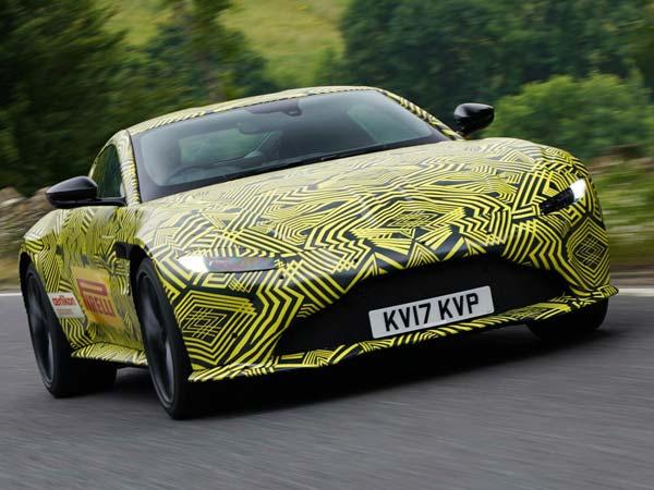 2018 Aston Martin Vantage Teaser Video