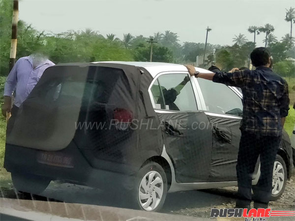 2018 Hyundai Santro Spied Testing In India Images Price Features Nmc1