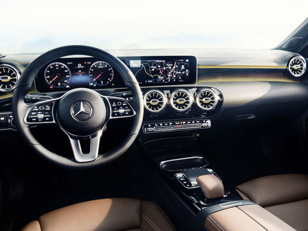 2018 Mercedes A-Class Interior Revealed