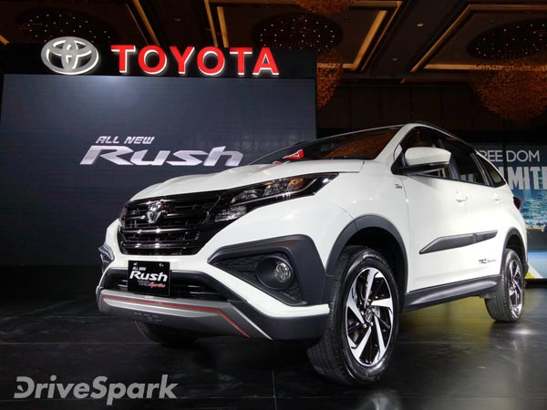 2018 Toyota Rush Revealed — Has All The DNA To Rival The Hyundai Creta & Renault Captur