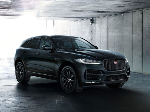 Jaguar Reveals Black Edition Xe Xf Amp F Pace Models