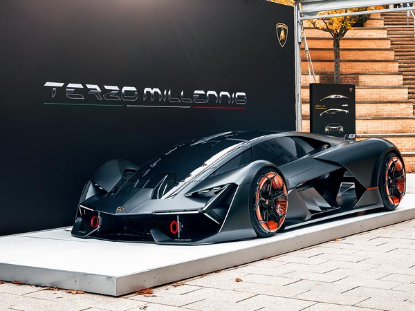 lamborghini terzo millennio is the world s first self repairing supercar drivespark news. Black Bedroom Furniture Sets. Home Design Ideas