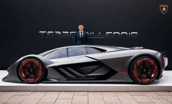 Lamborghini Terzo Millennio Is The World S First Self Repairing