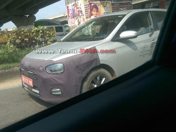 Hyundai i20 Facelift Spotted Testing With New Alloy Wheels