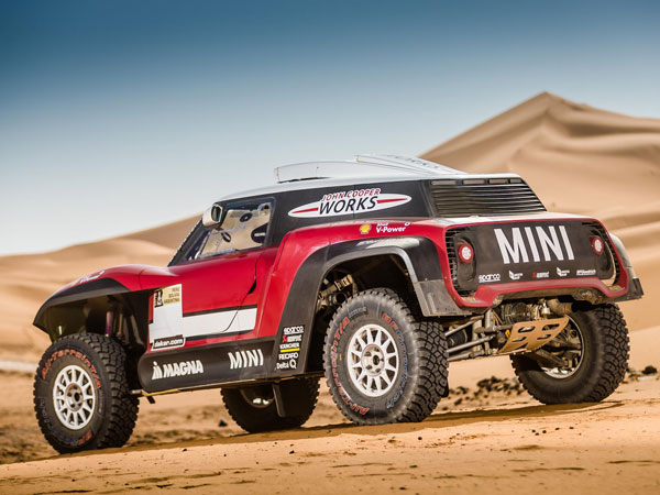 Mini Reveals JCW Buggy For 2018 Dakar Rally