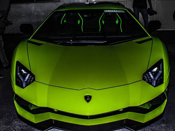 India S Most Expensive Lamborghini Goes To Tamil Nadu A Verde Scandal Spec Aventador S
