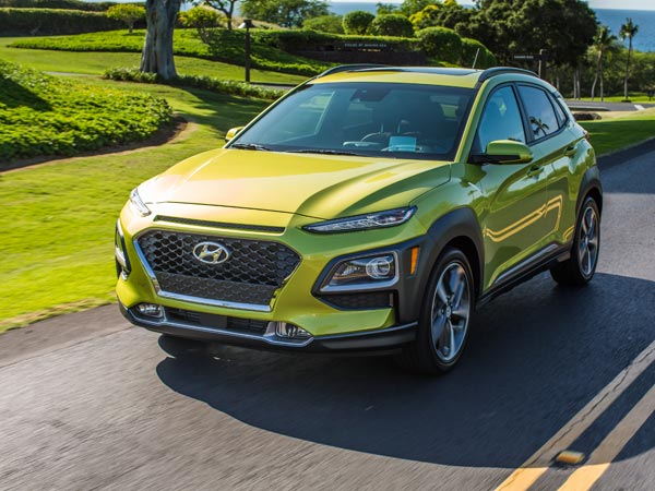 LA Auto Show: Hyundai Kona Wants 'Design Armor' to Woo CUV Buyers