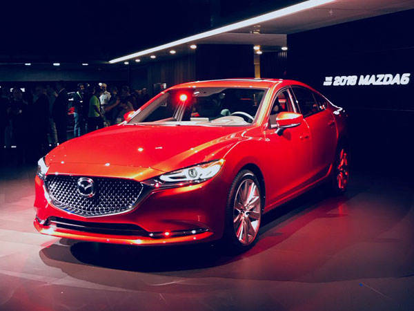 2017 Los Angeles Auto Show: Mazda 6 Facelift Revealed