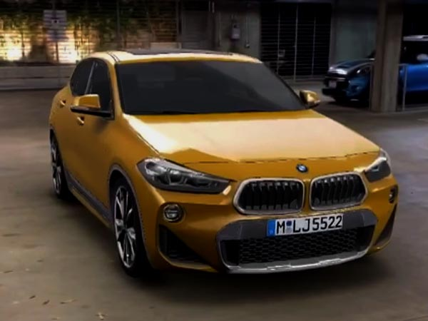 Bmw X2 Previewed Using Snapchat Augmented Trial Lens