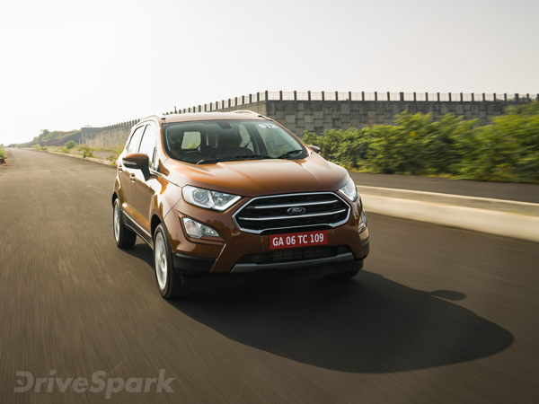 Ford Ecosport Facelift Bookings Open From November 5 At Amazon