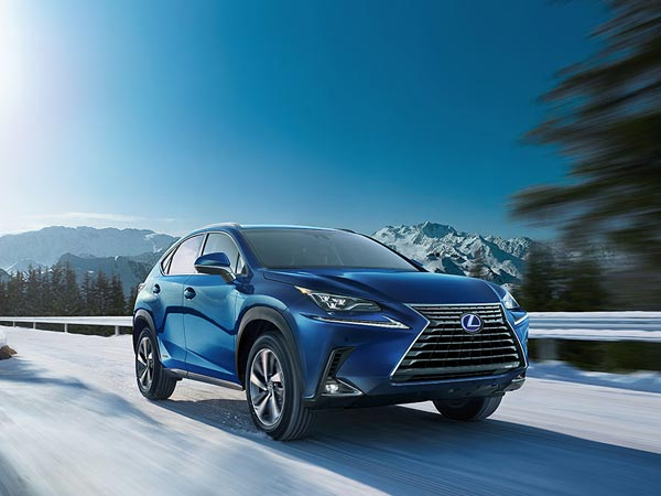 Lexus NX 300h Hybrid SUV Revealed In India