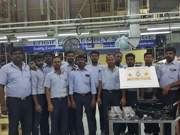 New-Gen Hyundai Santro Engine Production Begins At Chennai Plant