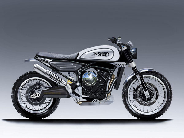 Norton Reveals New 650cc Scrambler Concept