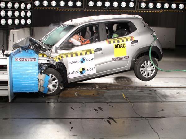 Renault Kwid Crash Test Latin Ncap Ratings Revealed Nmc1