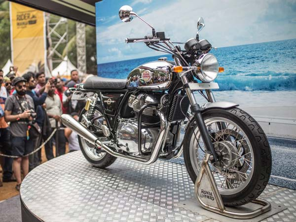 Royal Enfield 650 Twins Showcased In India