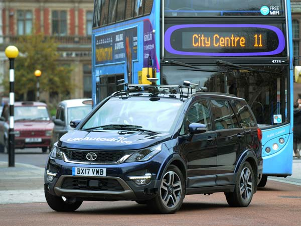 Tata Hexa Autonomous Vehicle Begins On Road Testing In The Uk Nmc1