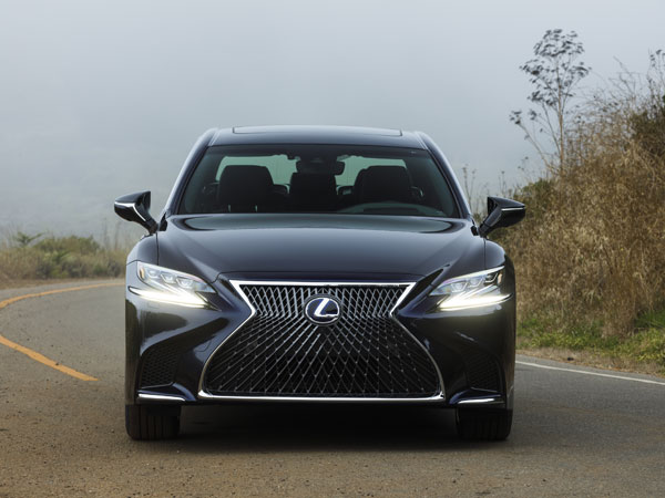 Lexus LS 500h India Launch In 2018 January