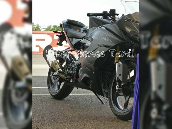 TVS Apache RR 310 Images, Specifications Leaked Ahead Of
