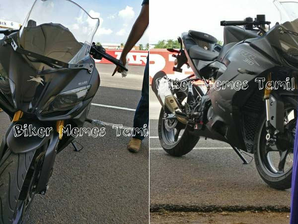 TVS Apache RR 310 Images, Specifications Leaked Ahead Of Launch