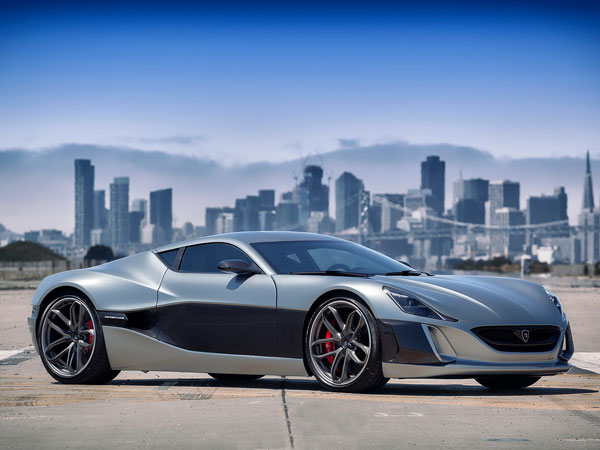 Rimac Electric Hypercar Teased