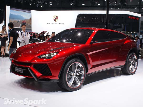LIVE Unveiling Of The New Lamborghini Urus SSUV