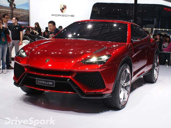 Lamborghini Urus debuts as the world's fastest SUV