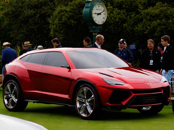Lamborghini races after new customers with first SUV