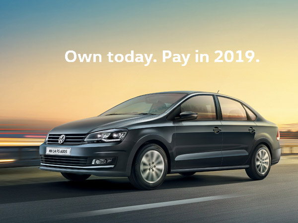 Buy A Volkswagen Vento Today And Pay In 2019 Here S How It Works