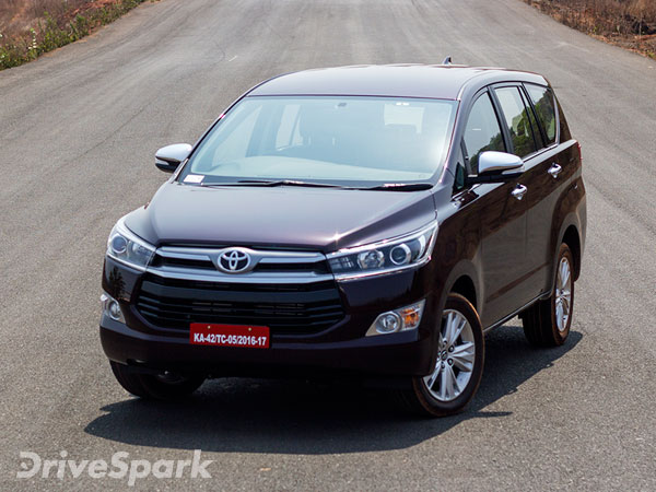 Toyota Car Prices To Increase From January 2018 In India
