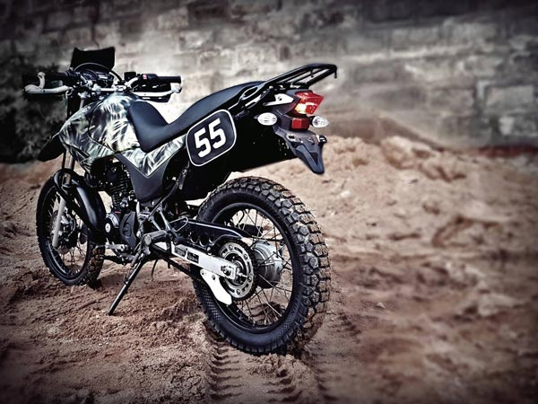 Xre 160 An Adventure Motorcycle Built By Motorcraft