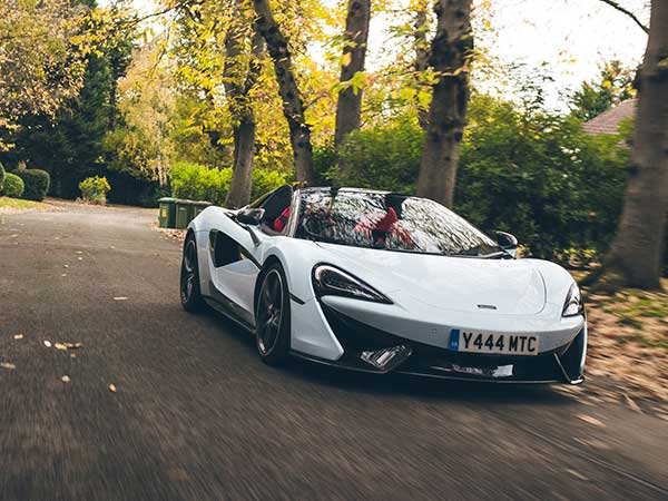 This Gorgeous Muriwai White McLaren 570S Spyder Was Inspired From Bruce McLaren's Former Home