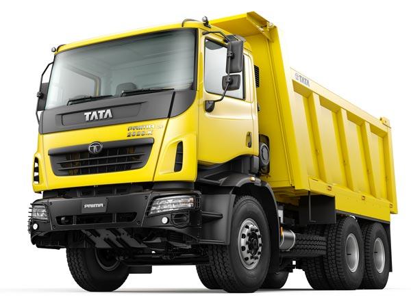 Tata Motors To Launch India's First Heavy Duty Tipper Range